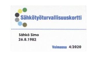 SFS6002 Kortti